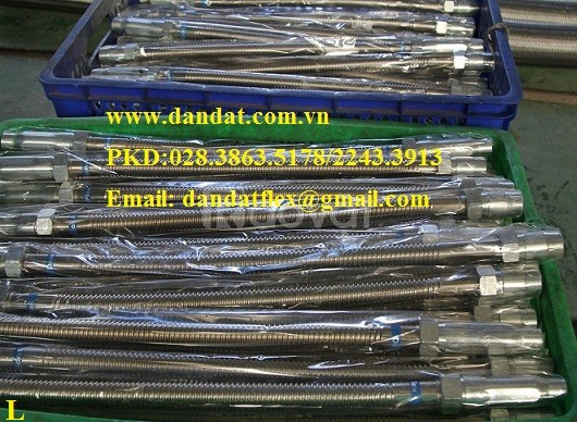 Ống nối mềm cho đầu phun chữa cháy, ống mềm pccc, khớp nối mềm inox 30