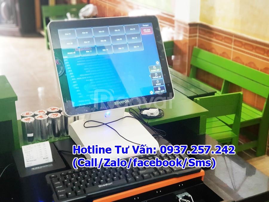 Bán máy pos tính tiền trọn bộ cho tiệm cafe tại Đồng Nai