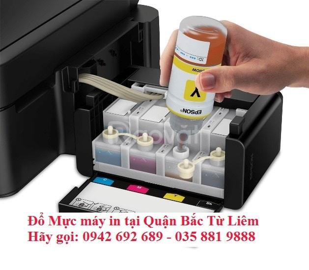 Đổ mực máy in tại Bắc Từ Liêm