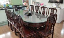 Bộ bàn ghế phòng ăn 10 ghế