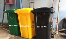 Thùng rác 240 lít dùng ngoài trời