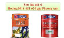 Sơn dầu Nippon Tilac màu B 9006 giá bao nhiêu?
