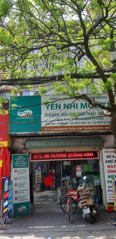 Cần bán nhà mặt phố số 88 Dương Quảng Hàm, Quận Cầu Giấy, HN