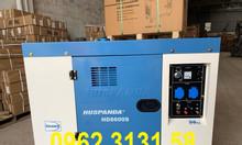 Máy phát điện chạy dầu 7kw cách âm Huspanda HD8600S cho gia đình