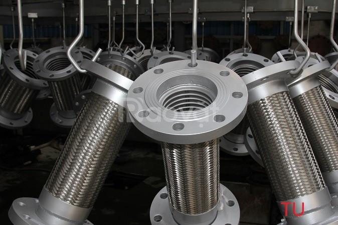 Nhà SX cung cấp khớp nối mềm nối bích chịu nhiệt, khớp nối mềm inox