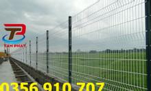 Hàng rào lưới thép hàn, hàng rào chắn sóng, hàng rào đẹp