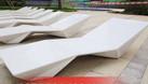 Ghế nhựa hồ bơi Fiberglass, ghế nhựa ngoài trời nhập Pháp (ảnh 6)