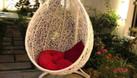 Xích đu nhựa giả mây, ghế xích đu treo sân vườn (ảnh 6)