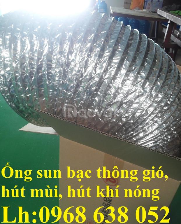 Ống nhôm sun dẫn khí nóng, thông khói, dẫn gió quạt hút mùi