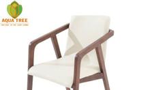 Ghế gỗ bọc nệm phòng ăn - aquatree 091