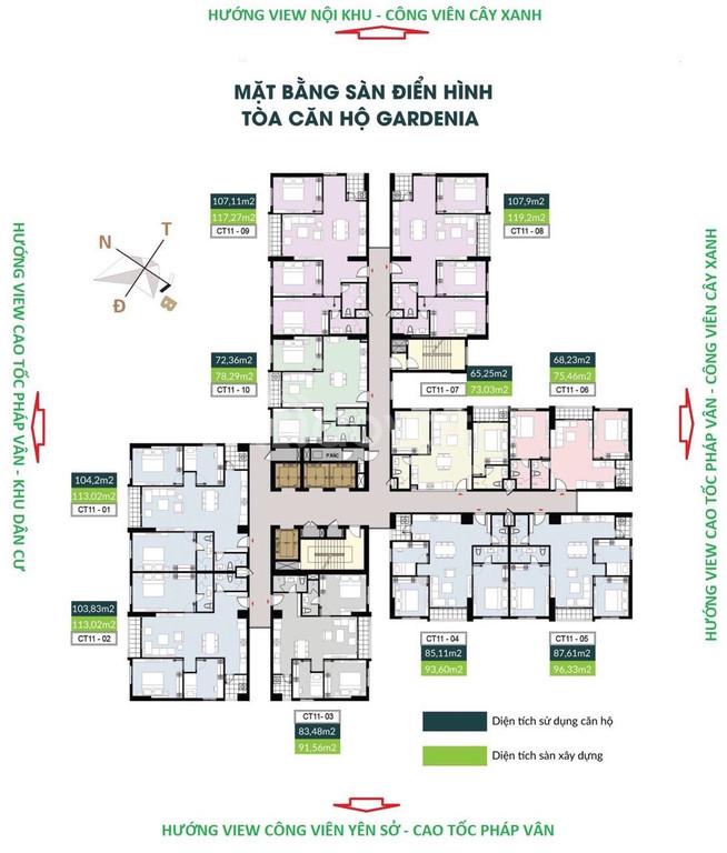 CĐT Hồng Hà Eco city chính thức ra hàng toà 4 tầng cuối cùng