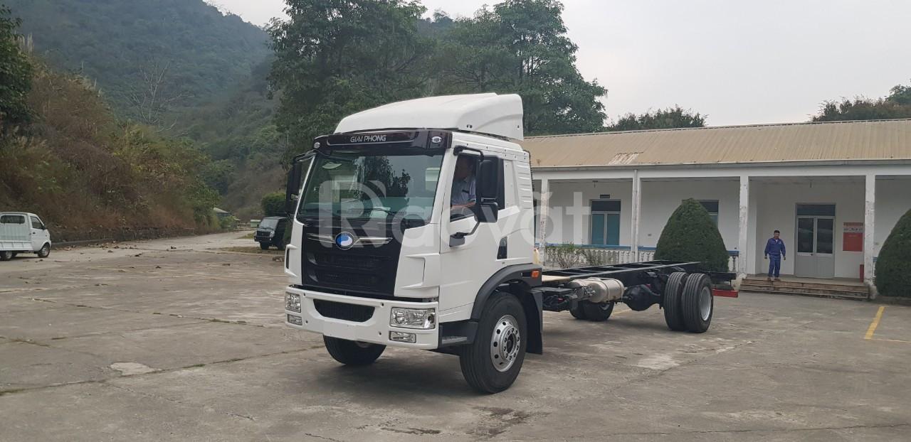 Giá xe tải faw 8 tấn thùng dài 8 mét nhập khẩu hỗ trợ trả góp