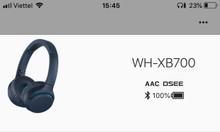 Bán tai nghe Sony xb700 mới mua