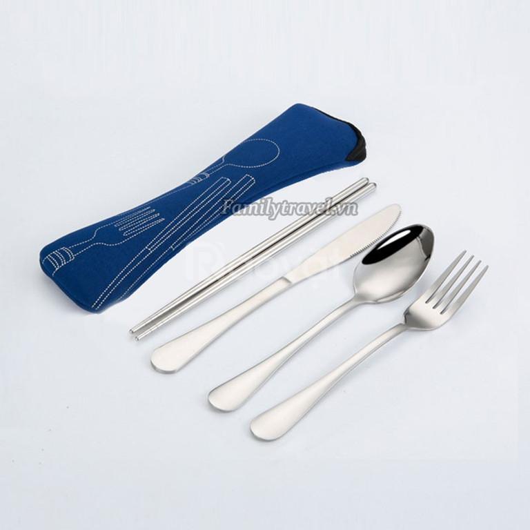 Bộ dao nĩa muỗng đũa inox