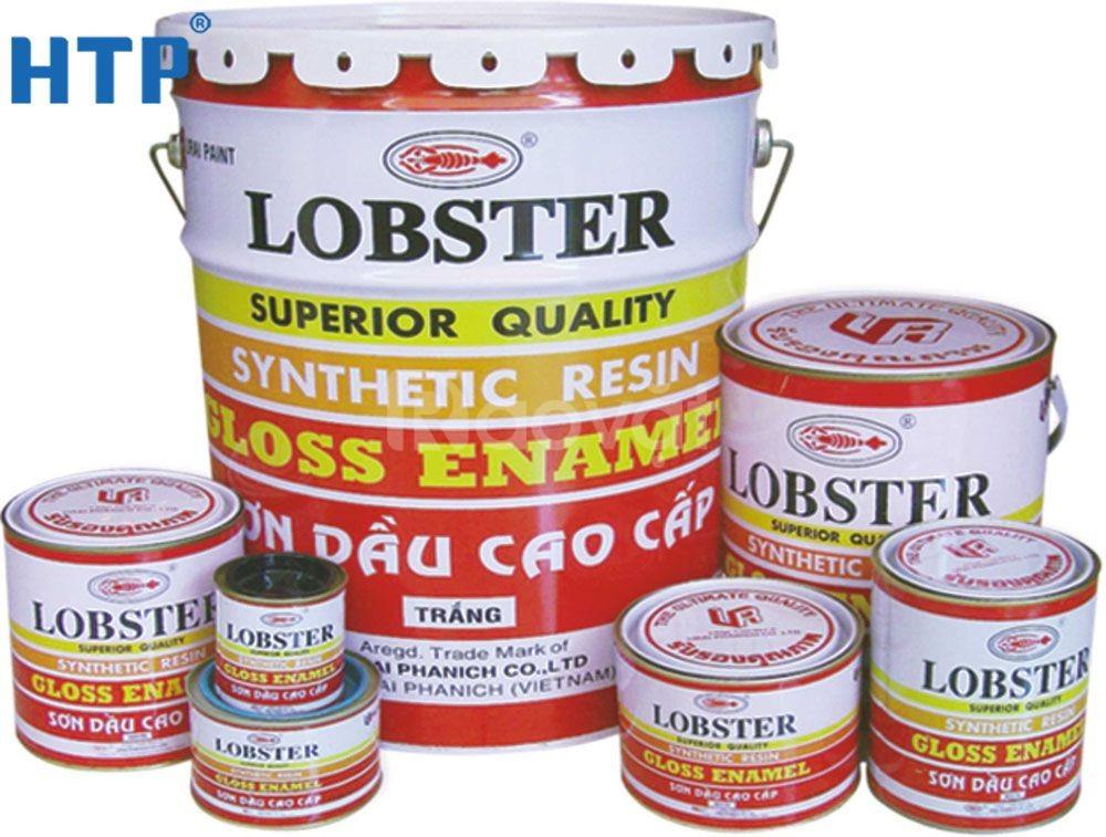 Đại lý phân phối sơn dầu Lobster màu 977 chính hãng cho sắt thép