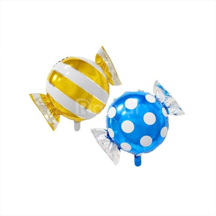 Combo bong bóng trang trí sinh nhật kẹo ngọt
