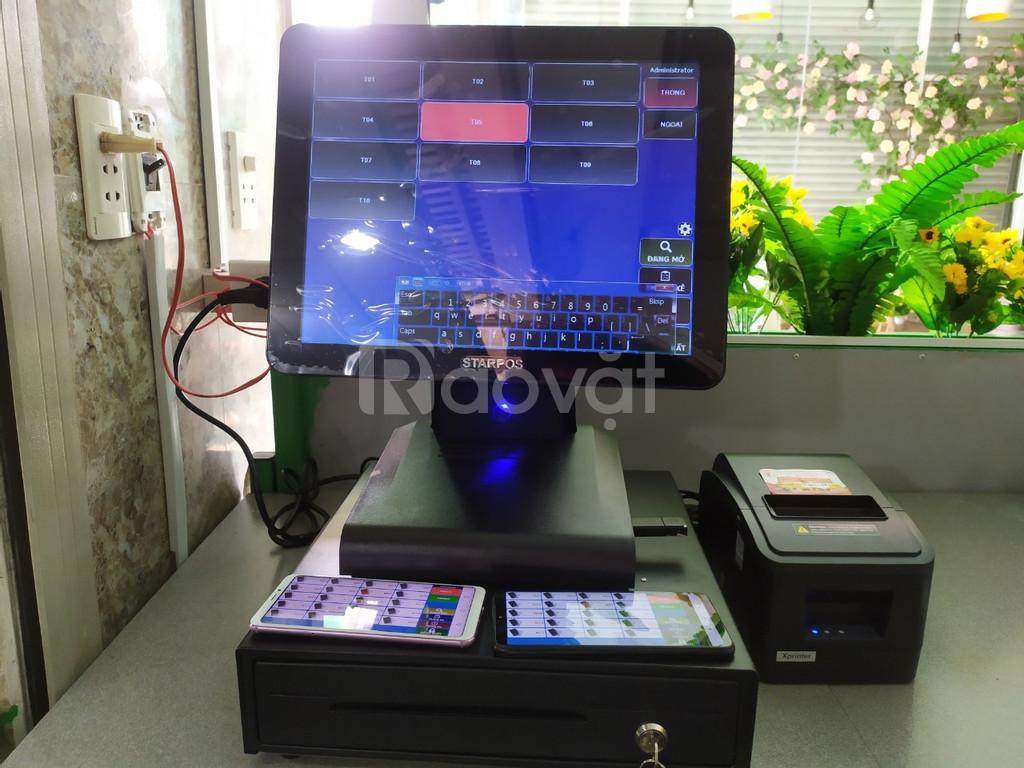 Combo máy tính tiền dành cho quán trà sữa tại Bình Dương giá rẻ