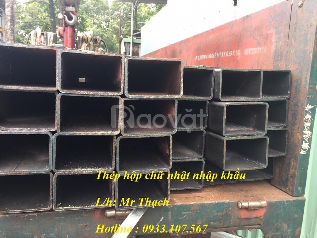 Thép hộp nhập khẩu 100x200,sắt hộp 100 x 200 dày 10ly,hộp đen 100x200