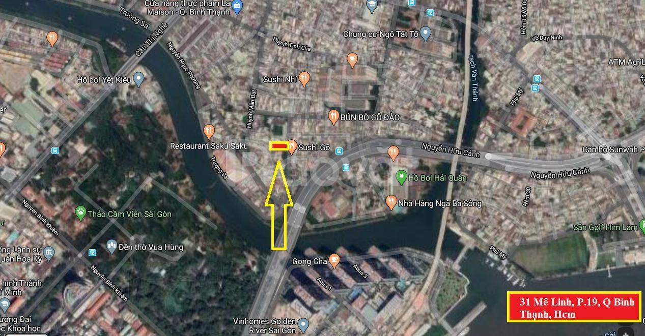 Cho thuê nhà phố đẹp 31 Mê Linh, Bình Thạnh, tiện KD đa ngành, giá rẻ