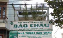 Bán nhà đất có sẵn nhà thuốc đang KD đường Nguyễn Văn Cừ, Bà Rịa