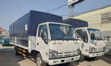 Xe tải isuzu 1.9 tấn - thùng bạt 6.2 mét đời 2019   Hỗ trợ trả góp
