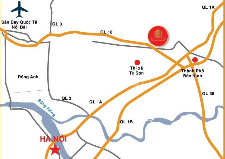 Shophouse Yên Phong gần Samsung Bắc Ninh 1.7 tỷ/ lô