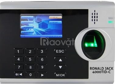 Máy chấm công vân tay & thẻ cảm ứng RONALD JACK 4000TID-C