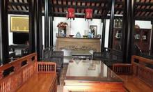 Nhà gỗ lim kiểu Huế ven khu công nghệ cao Hòa Lạc