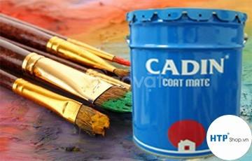 Tìm mua sơn chống rỉ Cadin A101 màu đỏ thùng 17.5 lít giá rẻ
