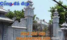 Cổng đá nhà thờ họ mẫu cổng đá tam quan đẹp theo phong thủy