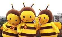 Mascot thiên nhiên ong và bướm
