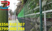 Hàng rào lưới thép, hàng rào đẹp, hàng rào chắn sóng D5,D6