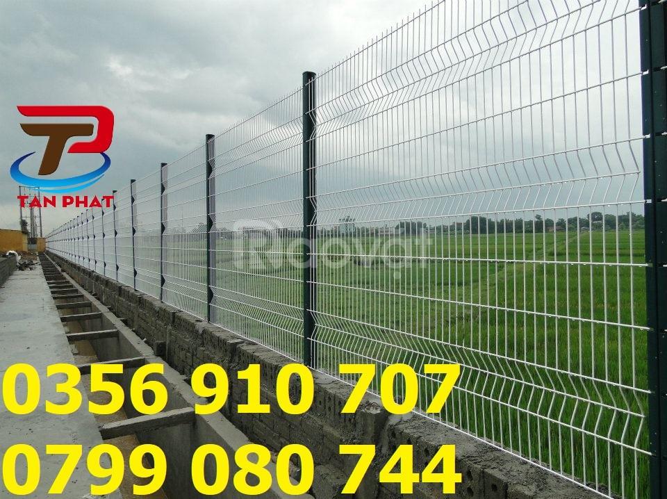 Hàng rào lưới thép, hàng rào gập đầu, hàng rào bảo vệ D5,D6