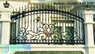 Top những mẫu hàng rào sắt uốn mỹ thuật đẹp, cao cấp cho mặt tiền (ảnh 1)