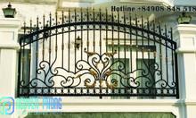 Top những mẫu hàng rào sắt uốn mỹ thuật đẹp, cao cấp cho mặt tiền