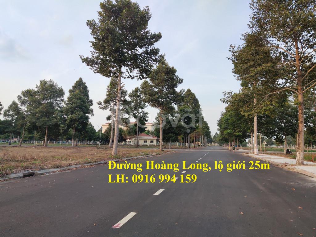 Chính chủ bán gấp giá rẻ miếng đất thổ cư mặt tiền đường Hoàng Long