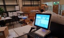 Máy tính tiền cảm ứng cho cửa hàng chăn drap tại Hà Nội giá rẻ