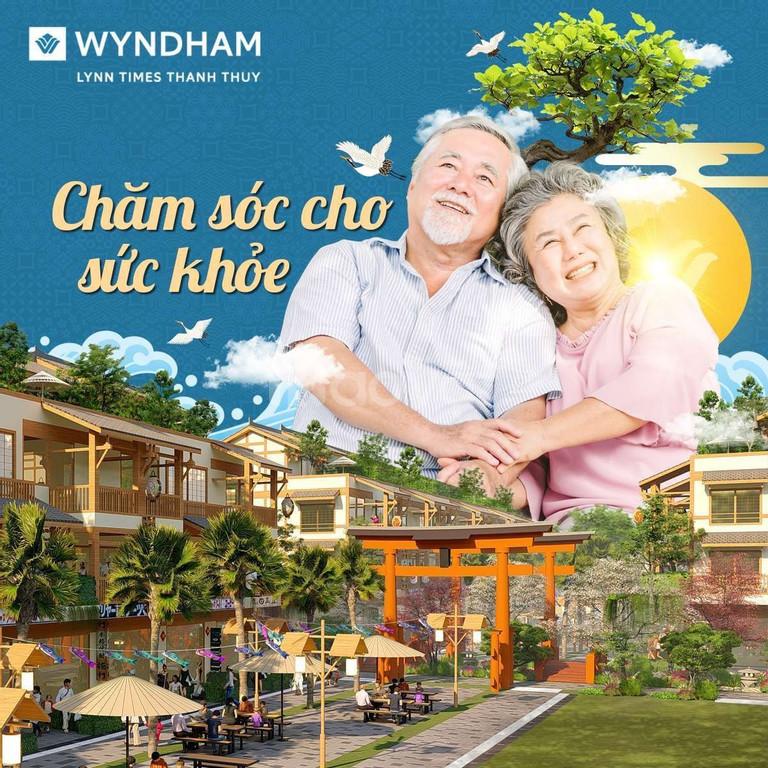 Tặng voucher khoáng nóng & cơ hội đầu tư liền kề Wyndham Thanh Thủy
