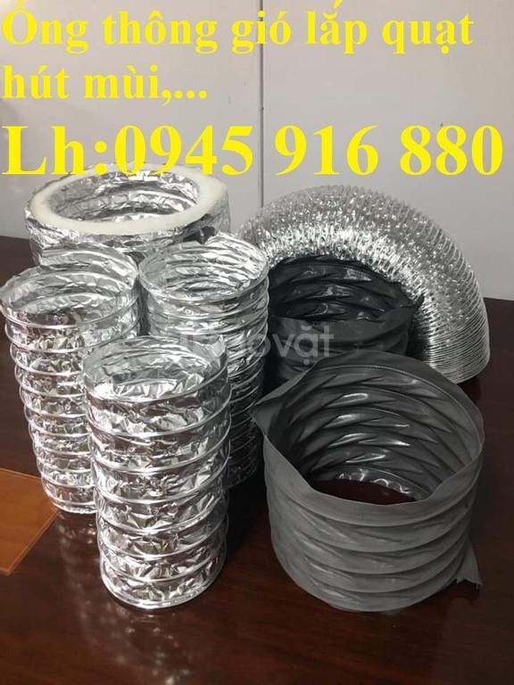 Ống bạc dẫn gió cách nhiệt, ống giấy bạc thông khói giá rẻ
