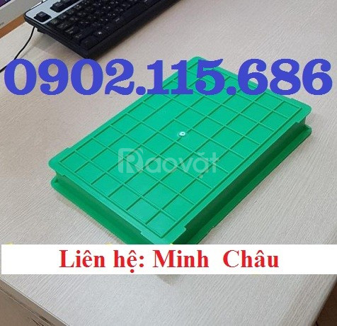 Khay nhựa BL006, hộp nhựa BL006, khay nhựa đựng ốc vít nhỏ, khay nhựa