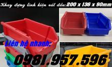 Khay nhựa cài vào giá/kệ, khay nhựa A5