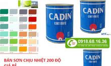 Mua sơn chịu nhiệt 200 độ màu nhũ bạc ở đâu tại TPHCM