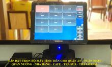 Lắp đặt máy tính tiền cho mô hình cafe tại Đà Nẵng