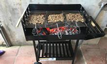 Bếp nướng sân vườn Landmann ck350 có bánh xa đẩy tiện