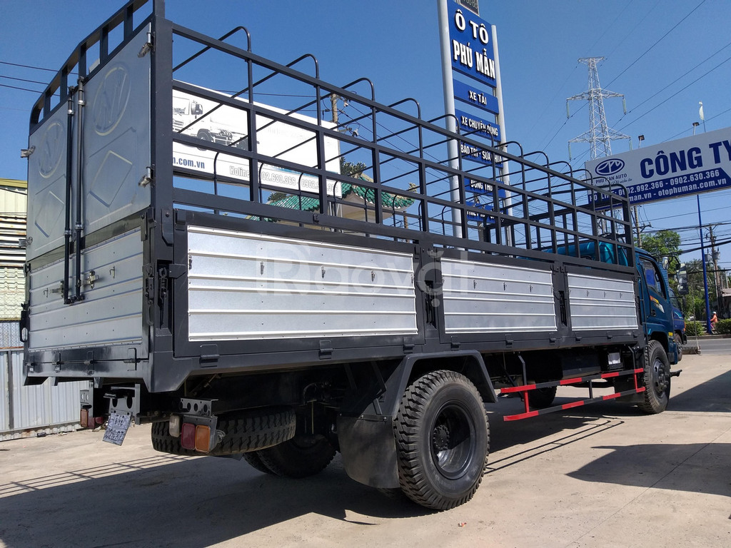 Xe tải Chiến Thắng 7 tấn ga cơ, Chiến Thắng 7t2 thùng dài  6m7