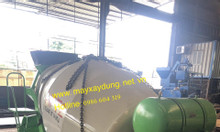 Bồn trộn bê tông 2 khối thủy lực nhập khẩu