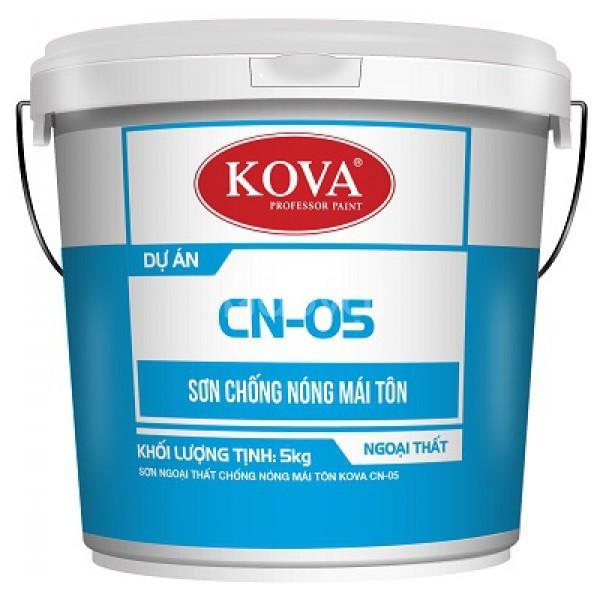 Đại lý bán Sơn ngoại thất chống nóng mái tôn Kova CN-05 chính hãng