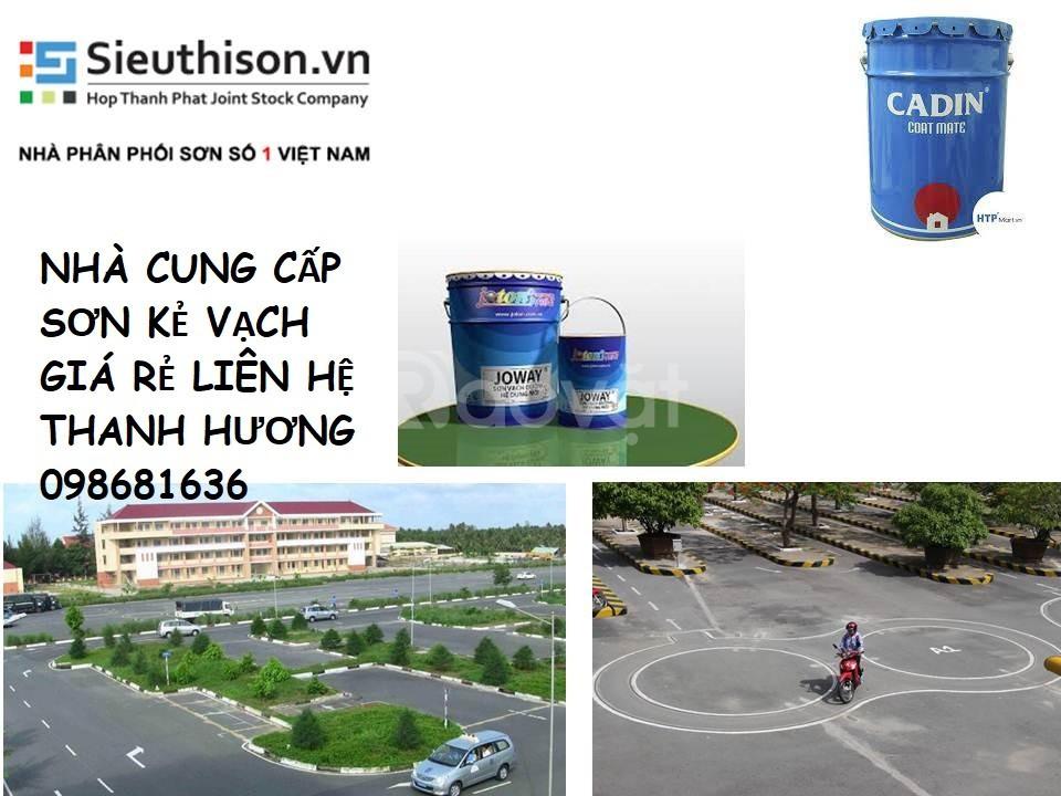 Tìm mua sơn kẻ vạch joton cho công trình tại Bình Thuận