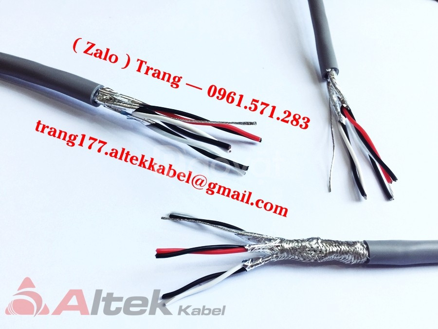 Cáp điều khiển, cáp tín hiệu Altek Kabel