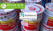 Cần mua sơn dầu galant màu trắng thùng 18l tại quận Tân Bình